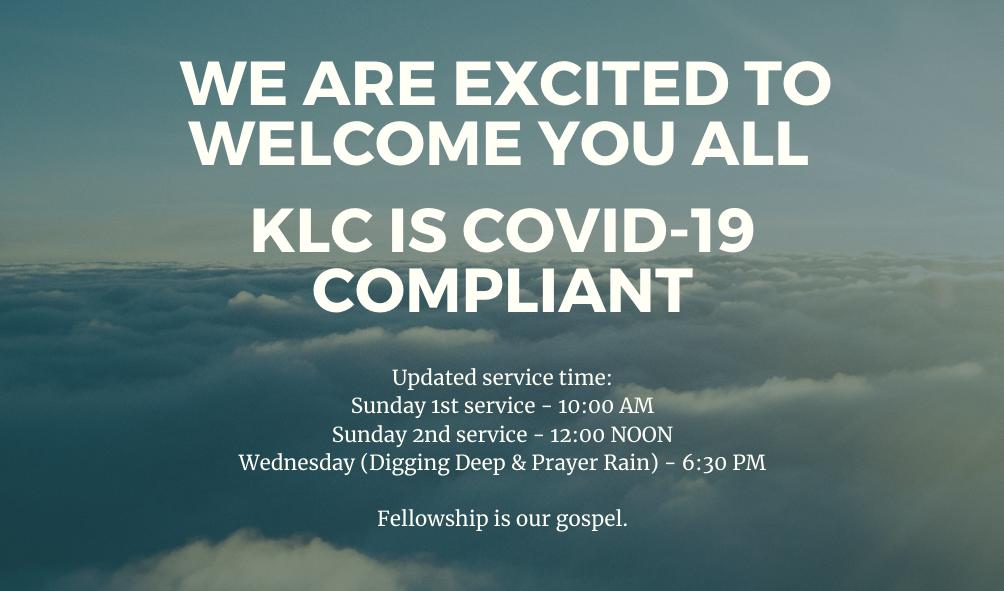 KLCcOVID-19SERVICETIME